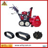 cheap Snow Removal crawler Snow Sweeper rubber track