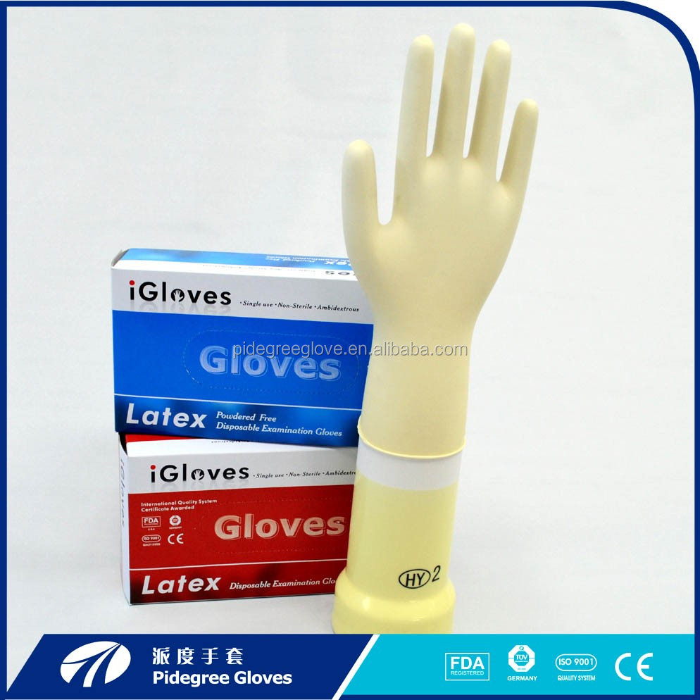 non sterile medical glovs Latex Examination Gloves hospital supplies
