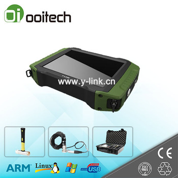 Wuhan Ooitech portable low strain pile integrity tester on sale