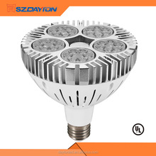 Shenzhen Dayton Factory Art Gallery Lighting High Lumen e27 Base Chips Ac85-265v 60w Led Par38 Light