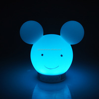 Mickey mouse App Control 7 Colors changing Music Audio LED Speaker table lamp