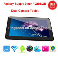 Factory supply 9inch tablet 2013