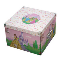 Cute collapsible paper box