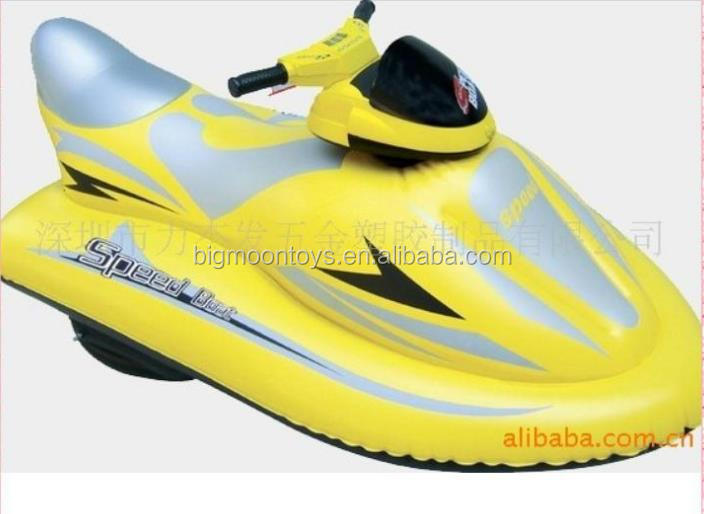 adult electric inflatable jet ski/ high quality inflatable motorboat