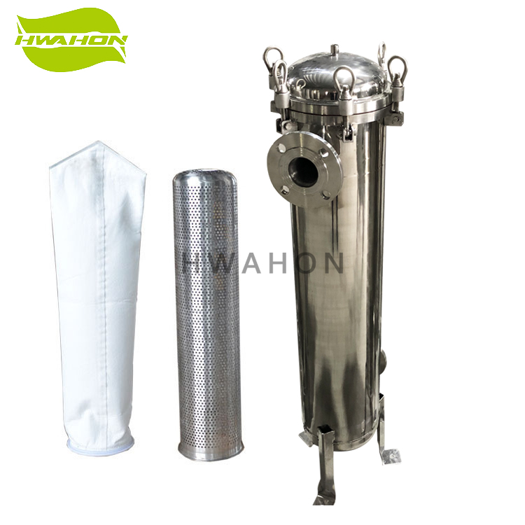 Stainless Steel Industrial Liquid Bag Filter Housing SS 304/316L for <strong>Water</strong> <strong>Treatment</strong>