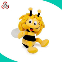 Custom soft stuffed plush worm toy wholesale plush insect toys