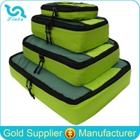 High Quality Ripstop Nylon 4 Piece Packing Cubes Luggage Packing Cubes