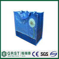 colorful pp nonwoven foldable bags for shopping and promotiom