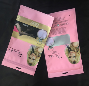 packaging zipper bag for clothing