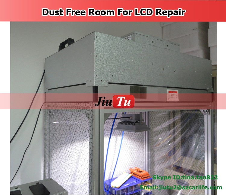 Phone Repair Dry Dust Free Room Full Set For Cleaning Room Anti Static Room Wall For Broken Phone Repair Jiutu