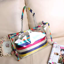 fashionable atmosphere female leather bag woman bag set women Beach bag