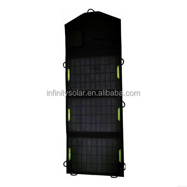 Durable 100w portable folding solar charger,High efficiency outdoor solar panel charger /Folding solar charging bag