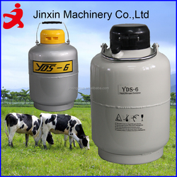 6L portable liquid nitrogen dewar/used industrial refrigeration equipment