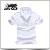 customize plain high quality polo t shirt china supplier