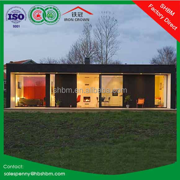 20ft 40ft modern container house drawings/ flat pack prefab container house kit