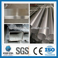 304 316 201 430 Welded Stainless Steel Pipe Weight