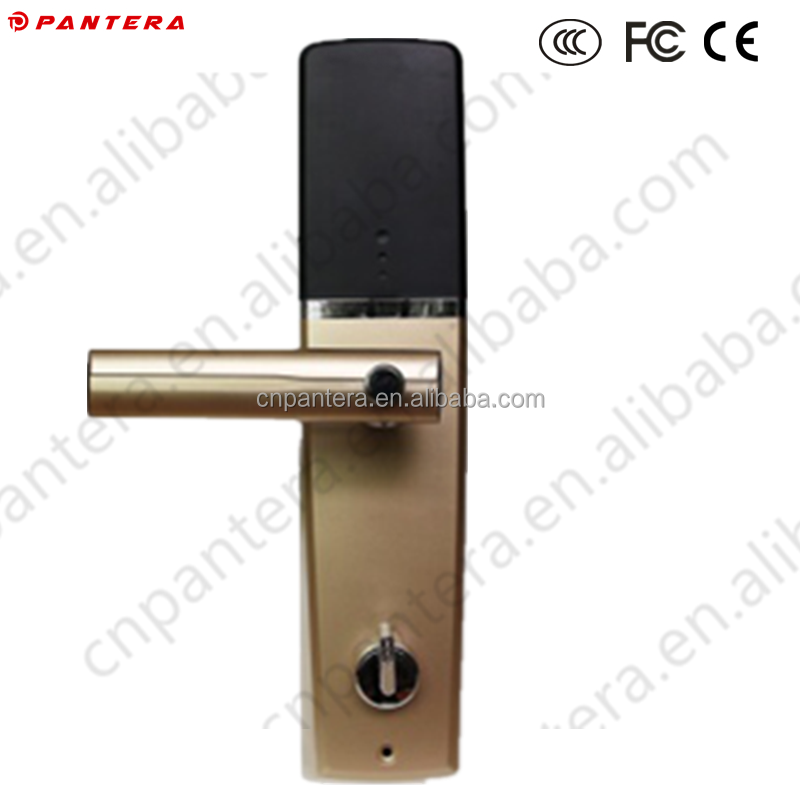 Biometric Fingerprint Door Lock with Flexible Handle