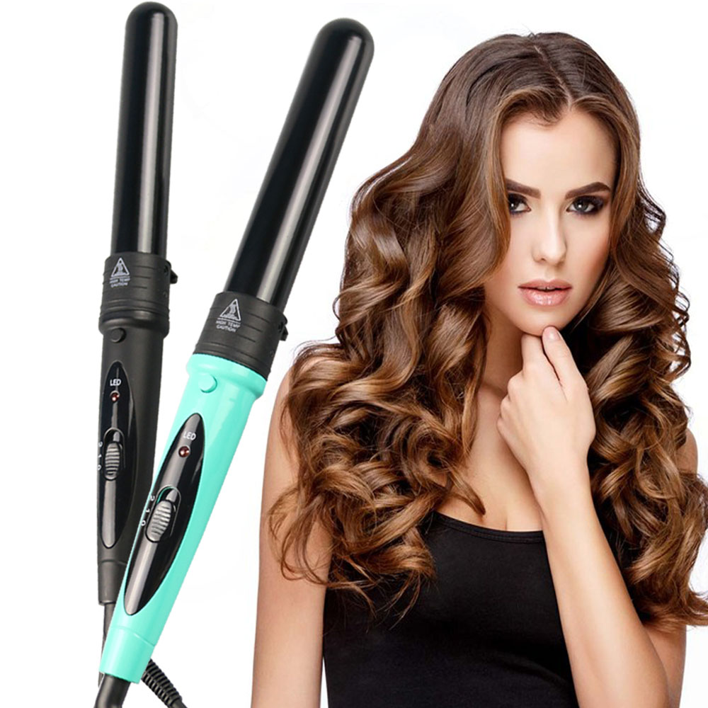 5 in 1 Hair Curling Wand PTC Heating Core Heating Up Hair Curler Iron Titanium Ceramic Hair Waver Roller Hairstyle Salon Tools