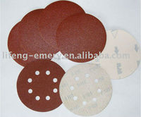 "6"" Velcro backing discs with 120 grit"