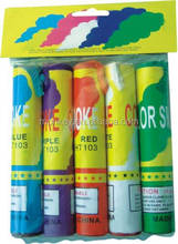 Color Assorted Smoke Tube Fireworks small smoke fireworks