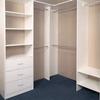 Foshan White Bedroom Walk In Wardrobe Closet No Doors Cabinet Furniture