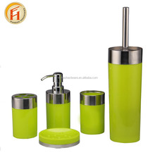 Dispenser Factory wholesale custom cheap bath set ceramic bathroom accessories of home