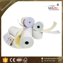 76mm 2ply 3ply CB CFB CF carbonless copy paper rolls carbonless NCR paper