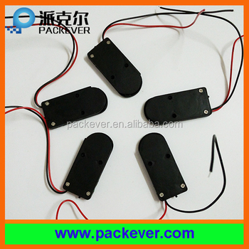 2 x 2032 Coin Cell Battery case - 6V output with On/Off switch