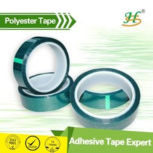 Pre cut High Temperature Green Round PET Masking adhesive Tape