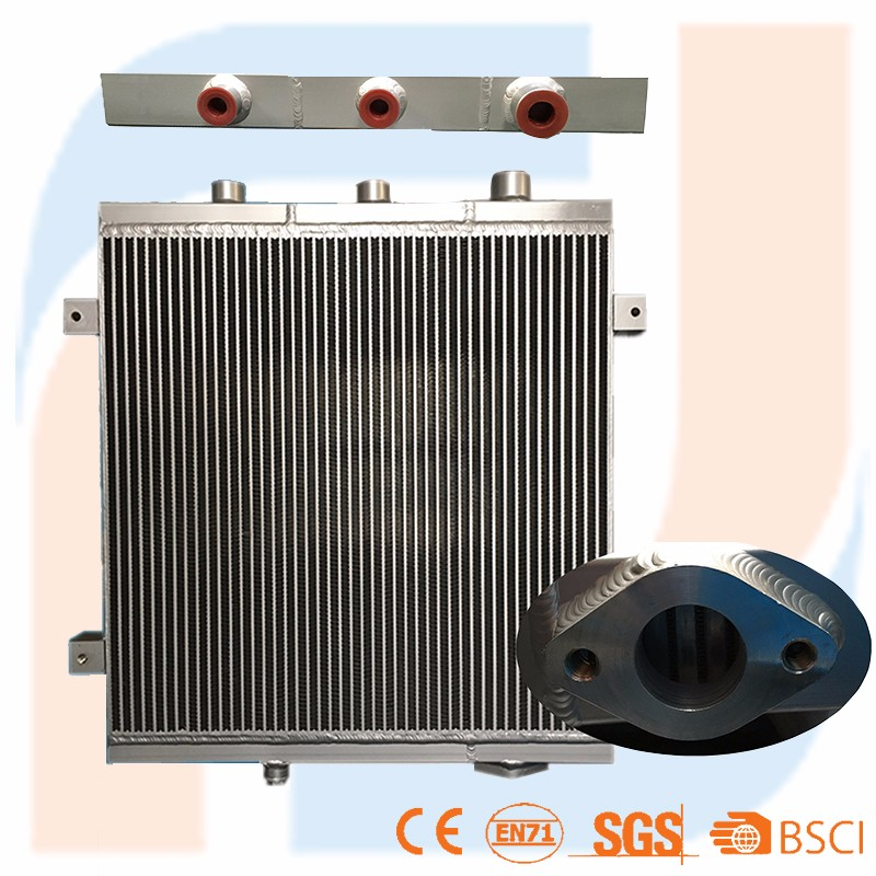 Hot selling OEM custom made aluminum plate truck oil cooler