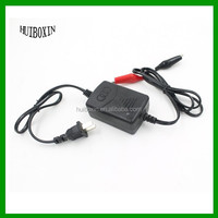 New ATV 12V 1A Smart Car Motorcycle Compact Battery Charger Tender Maintainer