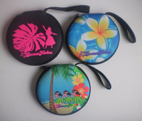 custom overal sublimation printing neoprene CD player bag