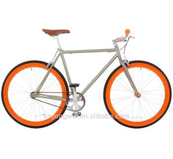 700C colorful steel fixed gear bicycle fixie bike