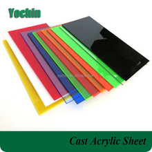 colored poly methyl methacrylate sheet