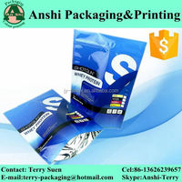 Custom print resealable aluminum foil whey protein powder bag