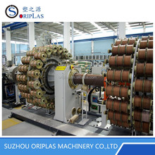 PE Aramid Fiber Reinforced Pipe Tube Extrusion Production Line