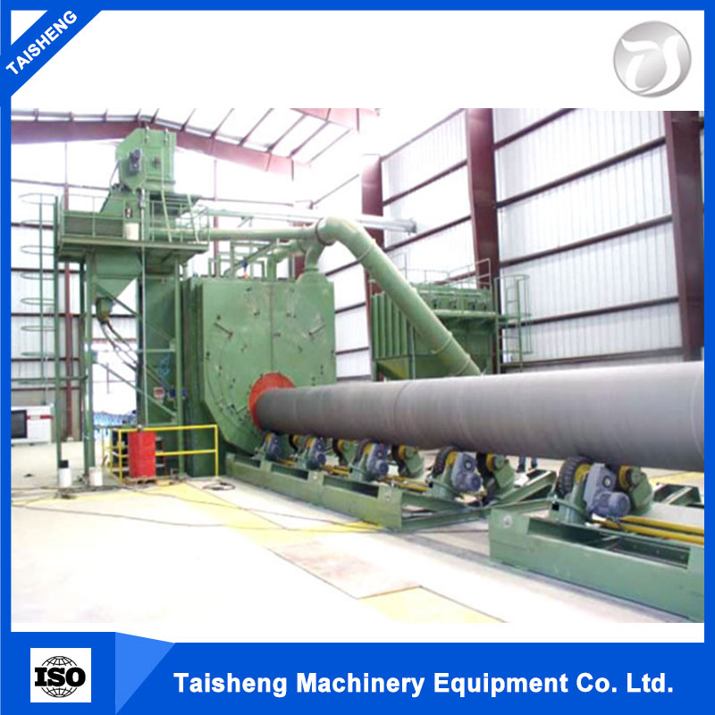 Good price high quality wheel blast cleaning equipment