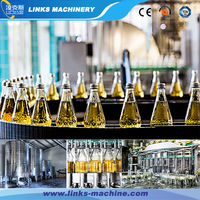 Automatic Spring water filling and sealing machine / glass bottle washing bottling capping plant /proudction line