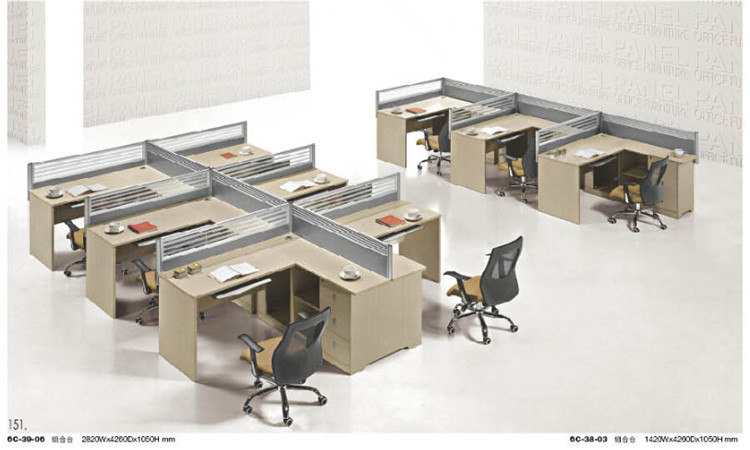 Office furniture table designs partition for call center