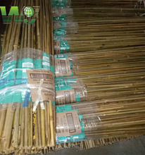 Wy-J122 raw straight poles natural treated agriculture bamboo poles