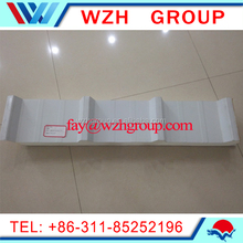 polyurethane wall sandwich panel 40 kg/m3density with ivory white surface steel