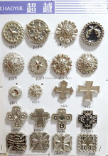 wholesale cheap custom conchos for leather belt buckle