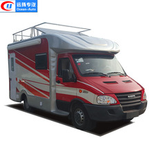 New Customized IVECO mobile kitchen fast food truck for sale
