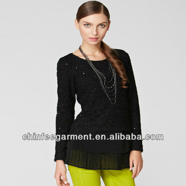 Fashion blouse designs for office 2013