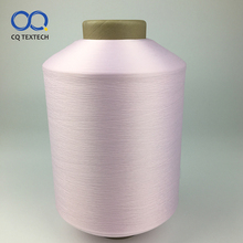 CQ Top quality 100D spun polyester semi dull weft yarn for sewing