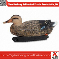 Blow molding turkey decoys vivid XPE decorate hunting goose/foldable turkey decoy