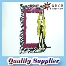 3D Soft PVC Plastic Photo Frame
