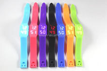2015 Multi-Fonction Fashion LED Silicone Bracelet Watch USB For Promotion Gift