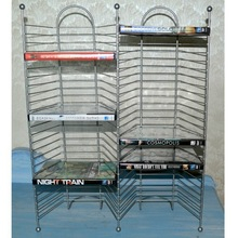 Cheap Double Sides Metal VCD Display Rack