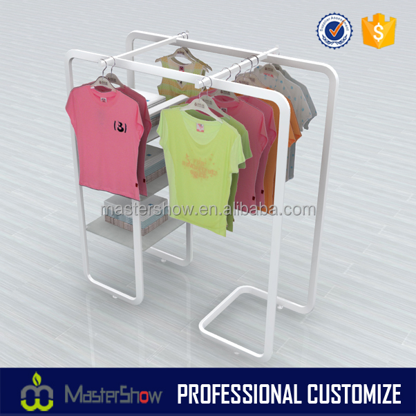 Custom high quality baby clothes display stand for shop